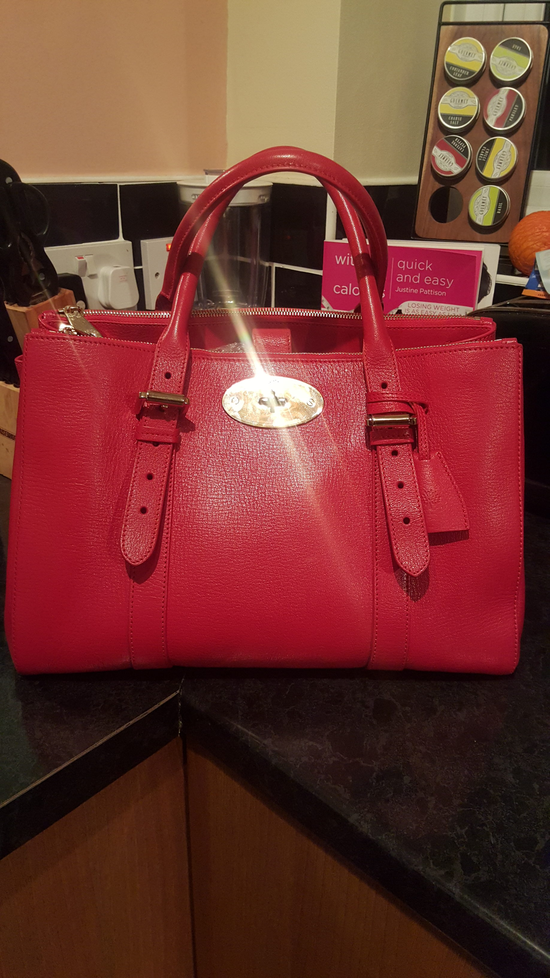 So after winning my amazing Mulberry Handbag worth a staggering £1600 75bad483571e3